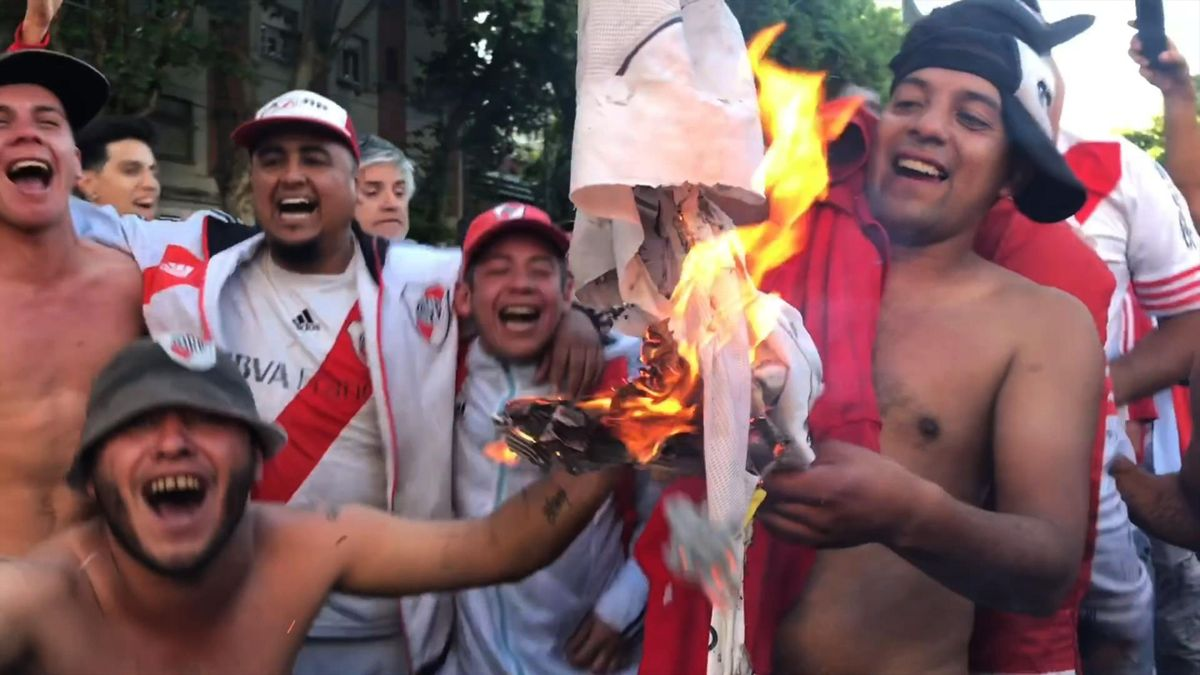 Supporters of River Plate