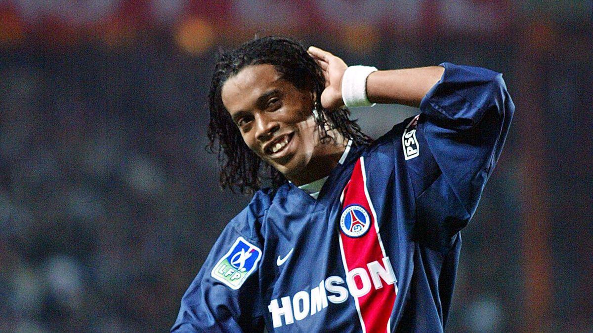 Ronaldinho, sous le maillot du PSG