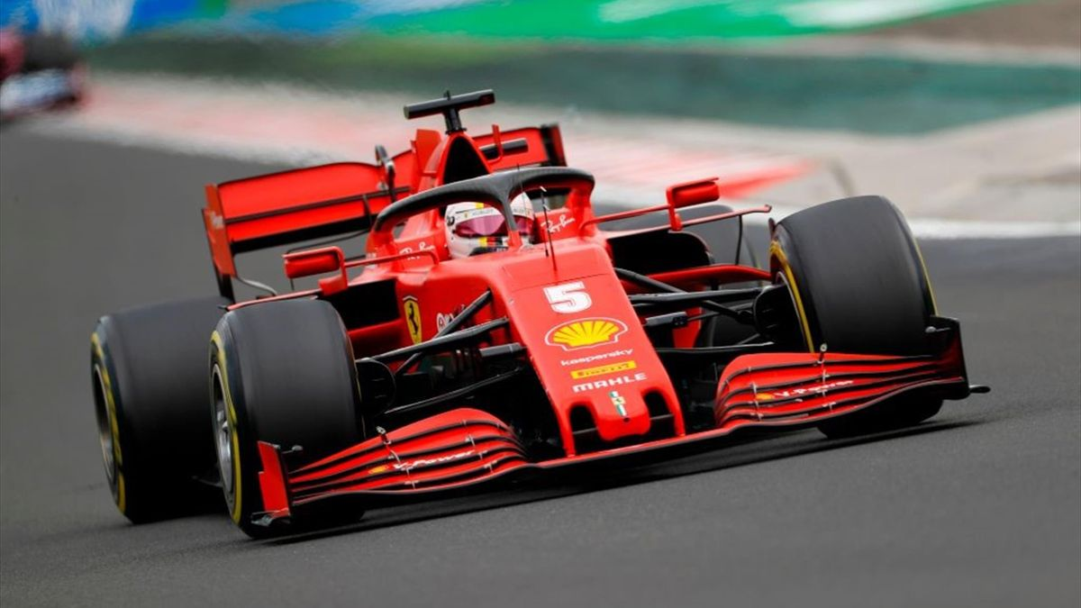 Sebastian Vettel fuhr im Ferrari beim Großen Preis von Ungarn auf Rang sechs. Ob er auch 2021 noch in der Formel 1 fährt, ist weiter unklar