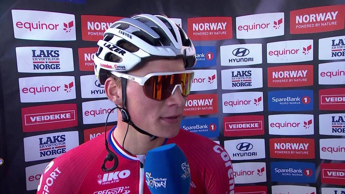 Arctic Race of Norway : winner's interview