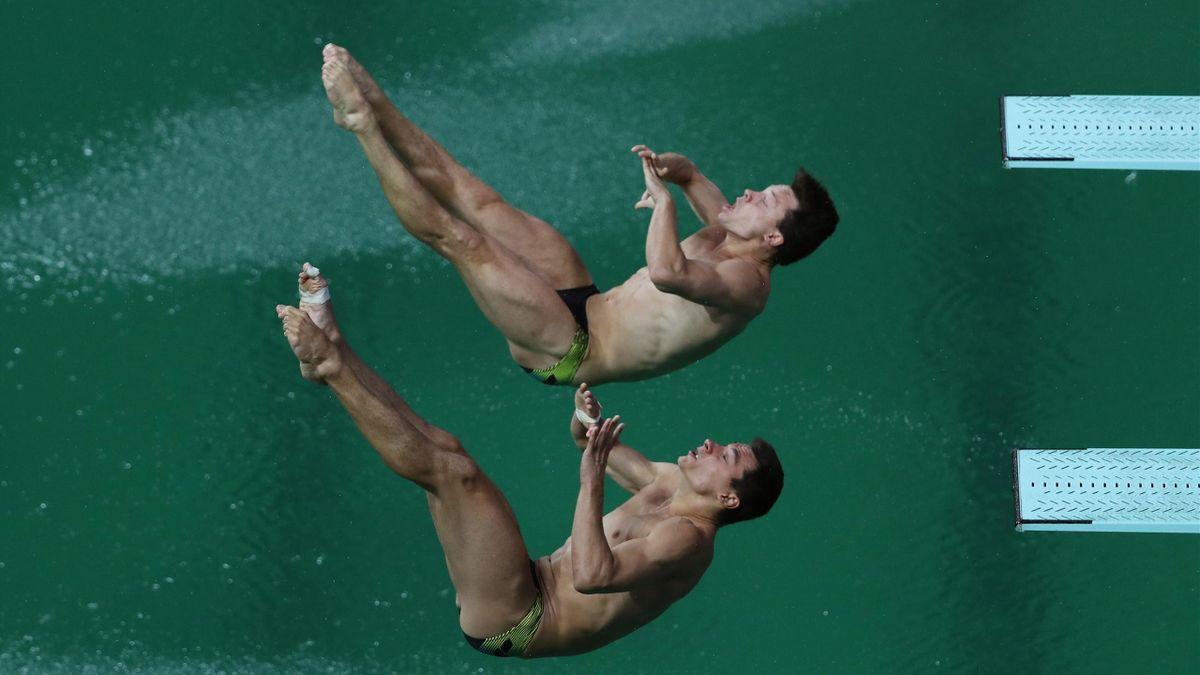 Patrick Hausding und Stephan Feck