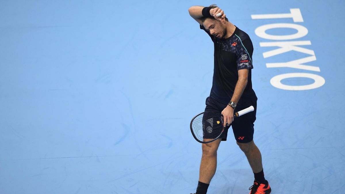 Stan Wawrinka beim ATP-Turnier in Tokio