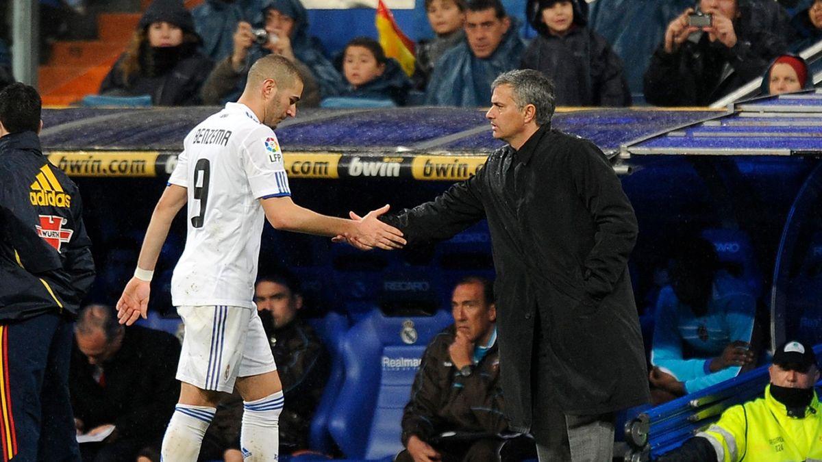 Benzema con Mourinho