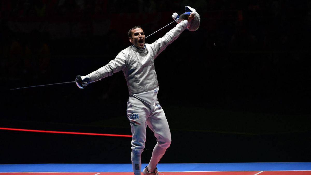 Szilágyi Áron a 2016-os riói olimpia döntőjében