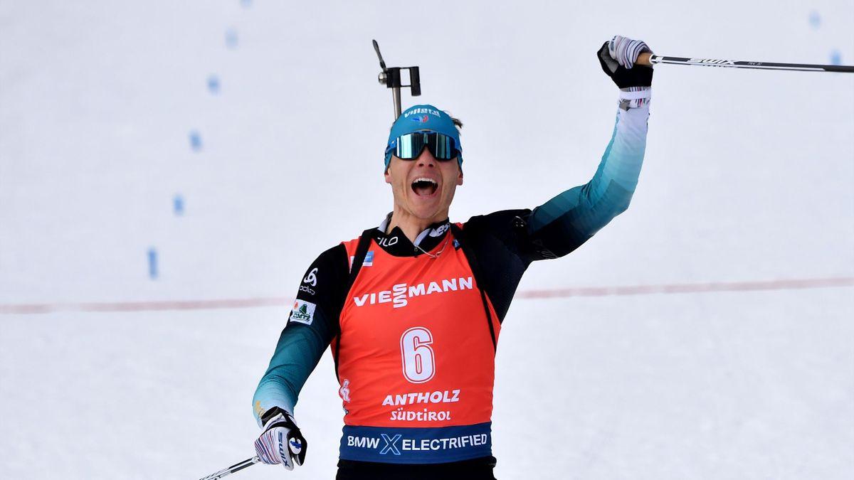 Biathlon : Antholz - 12.5km Pursuit Men - Highlights