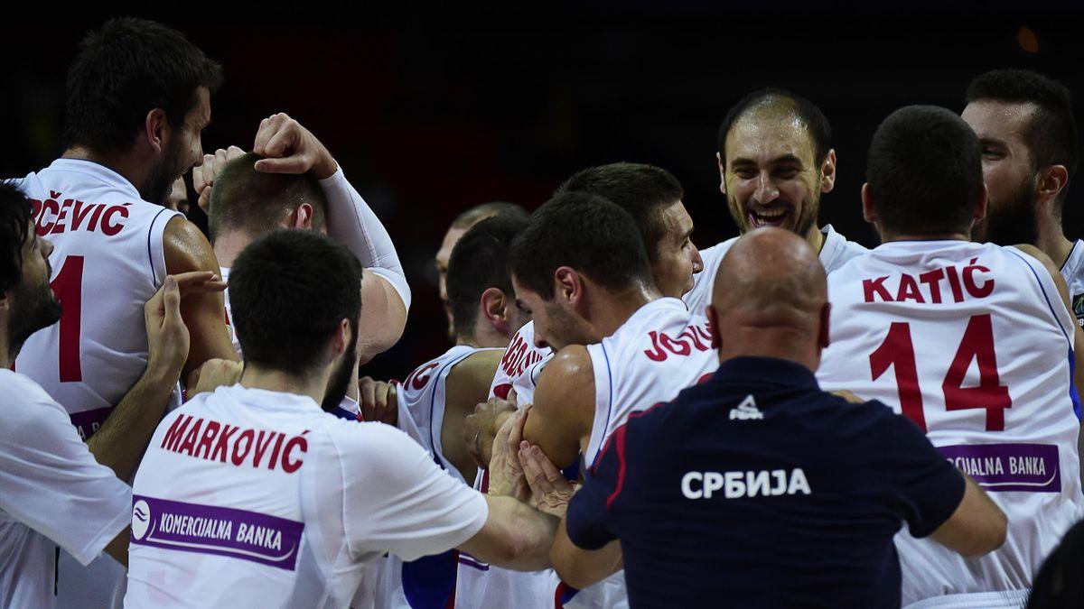 Сербия вышла в полуфинал