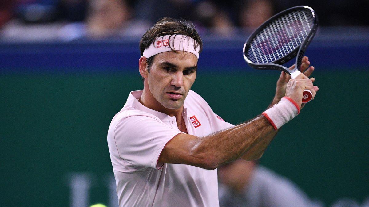 Roger Federer indoor 2018