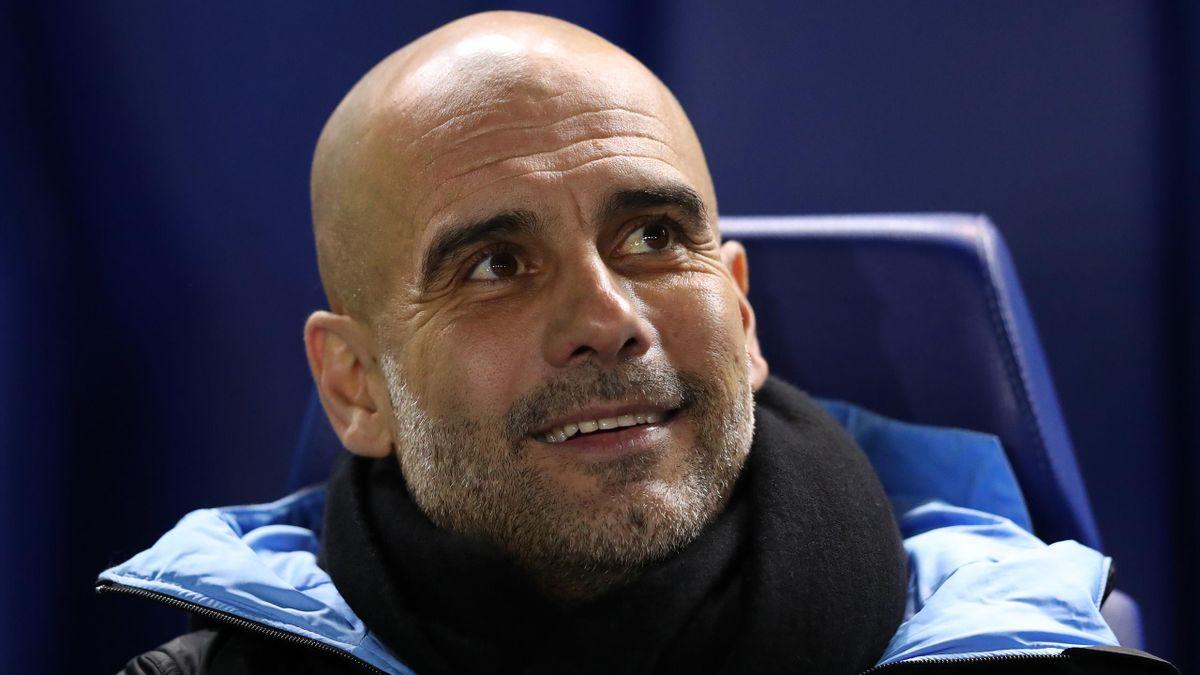 Pep Guardiola o antrenează pe Manchester City din 2016