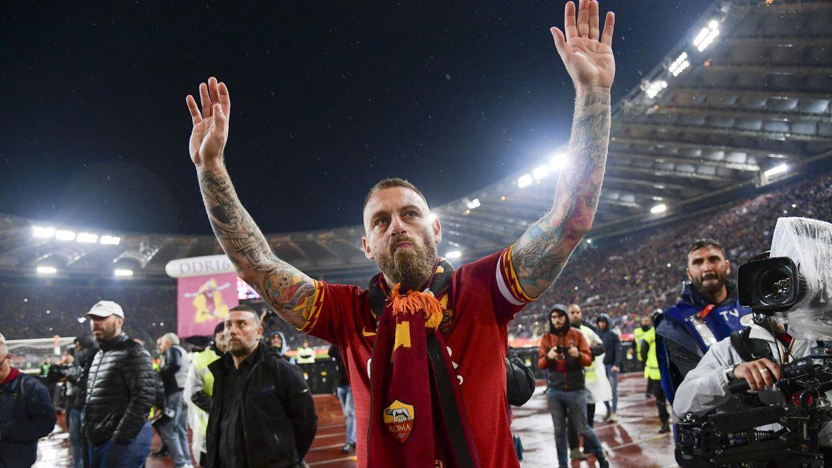 Daniele De Rossi et ses adieux à l'AS Rome