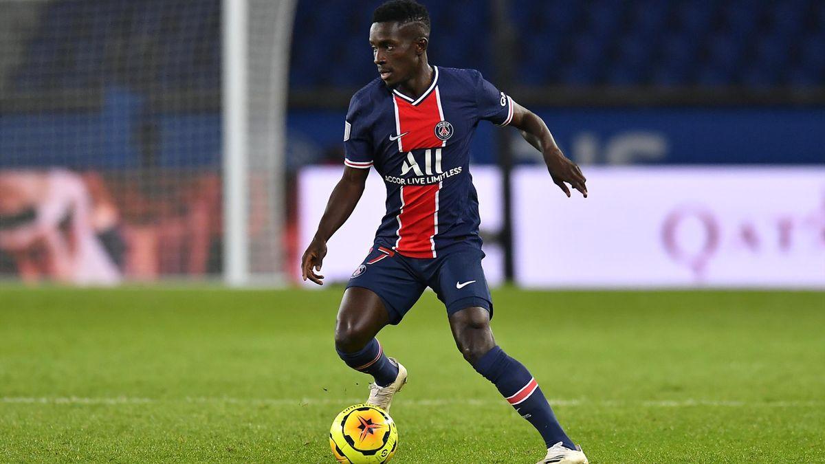 Idrissa Gueye, le milieu de terrain du PSG.