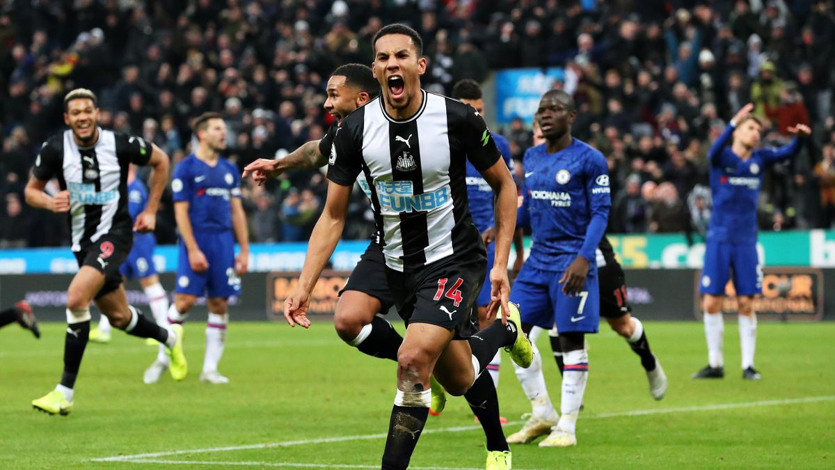 Newcastle Stun Chelsea With Last minute Winner Eurosport