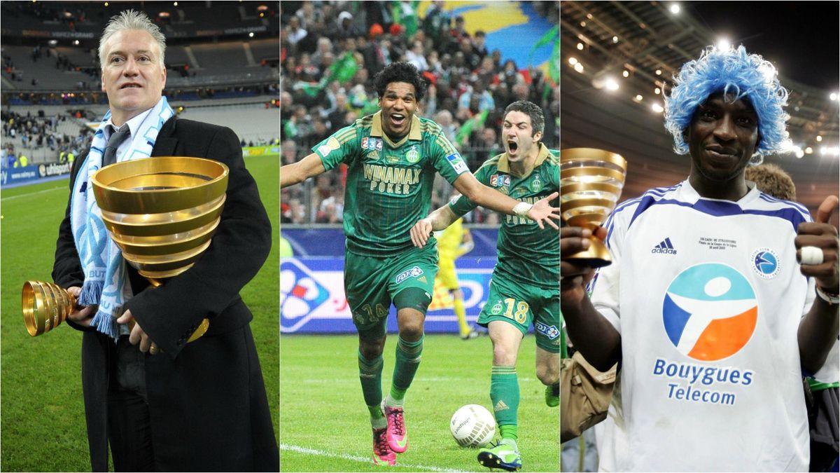 Didier Deschamps, Brandao et Mamadou Niang, acteurs majeurs de la Coupe de la Ligue