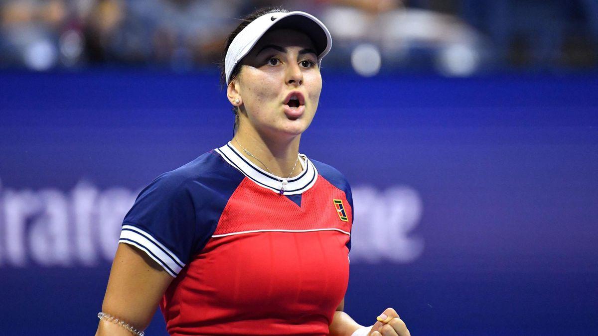 Bianca Andreescu à l'US Open en 2021