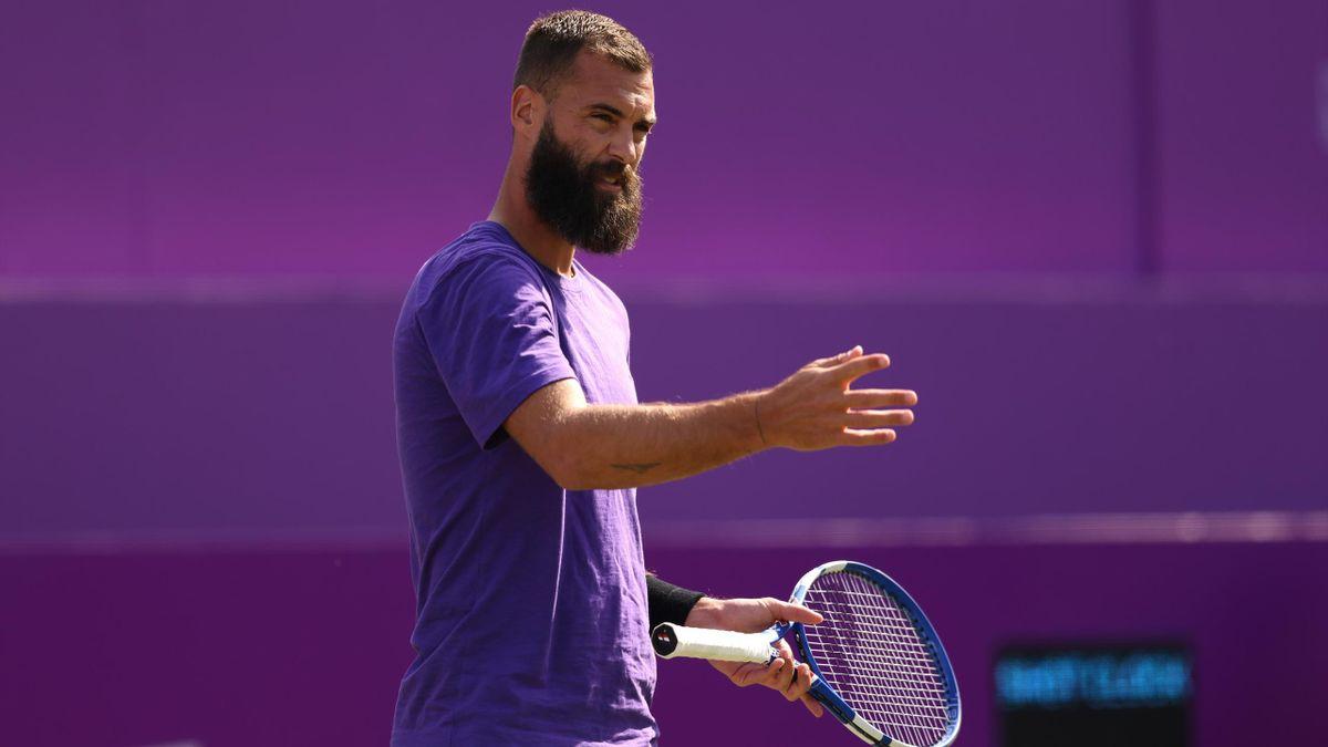 Benoît Paire sorgte in Wimbledon für negative Schlagzeilen