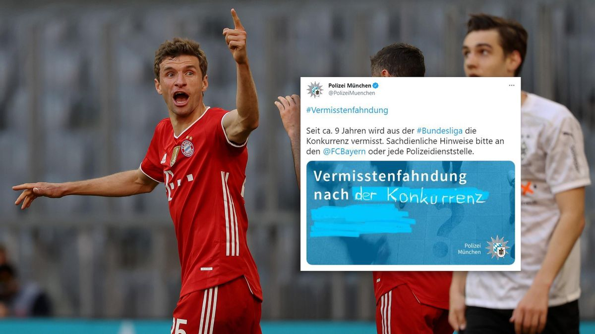 Thomas Müller (l.) - FC Bayern