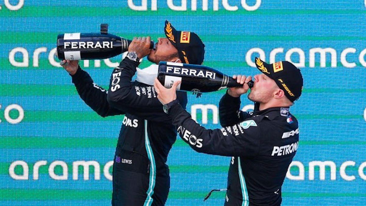 Lewis Hamilton, Valtteri Bottas (Mercedes) - GP of Spain 2021