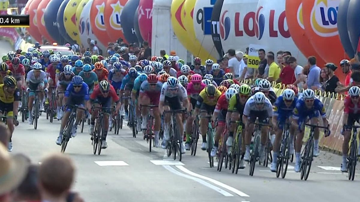 Tour of Pologne : Key moments Stage 1