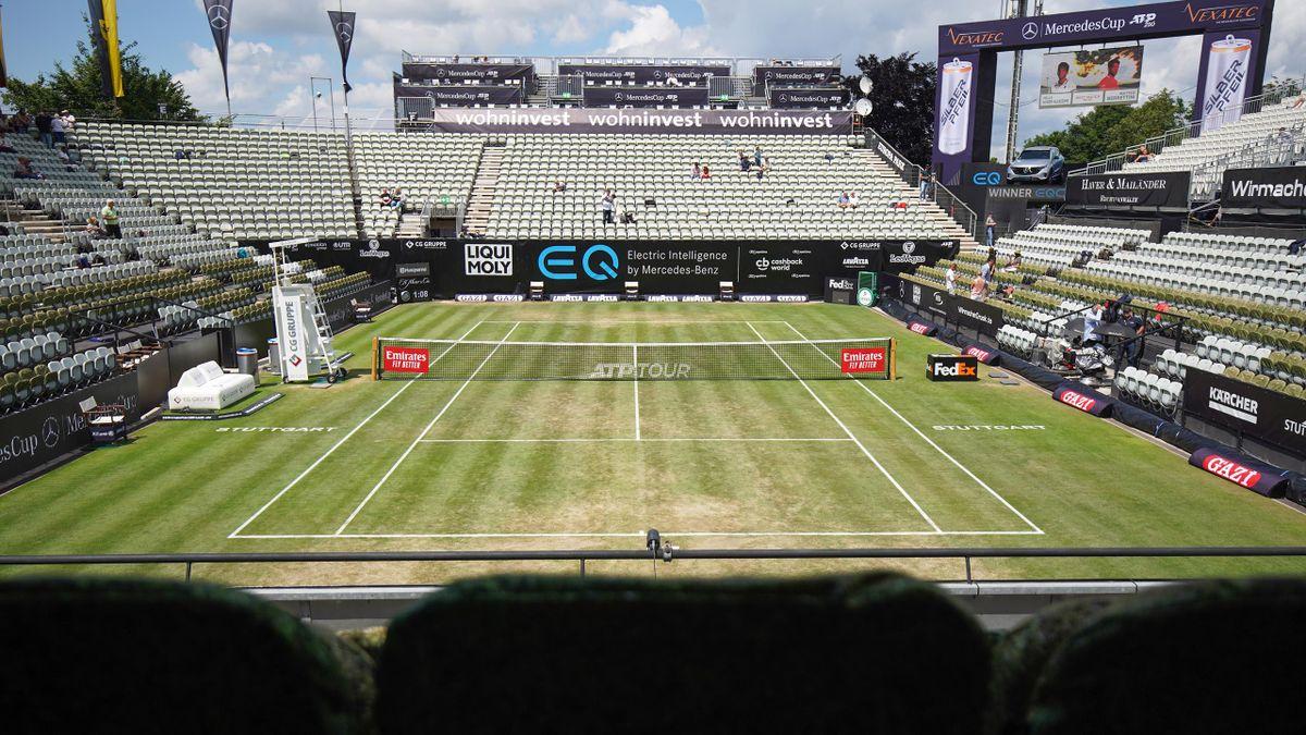 Beim ATP-Turnier in Stuttgart wird Anfang Juni auf Rasen aufgeschlagen