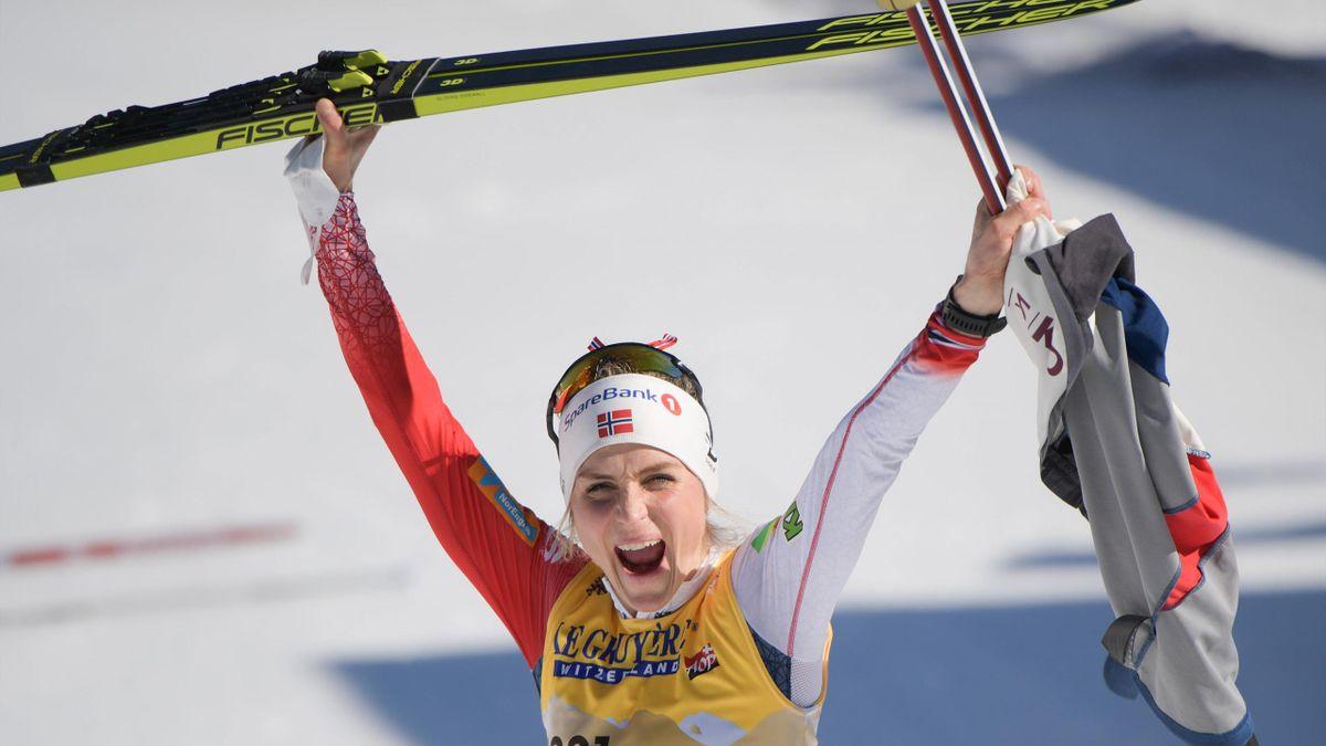 Therese Johaug hat ihren WM-Titel über zehn Kilometer in der Freien Technik verteidigt