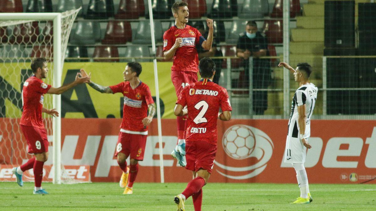 FCSB s-a impus categoric pe terenul Astrei Giurgiu, în prima etapă din Liga 1