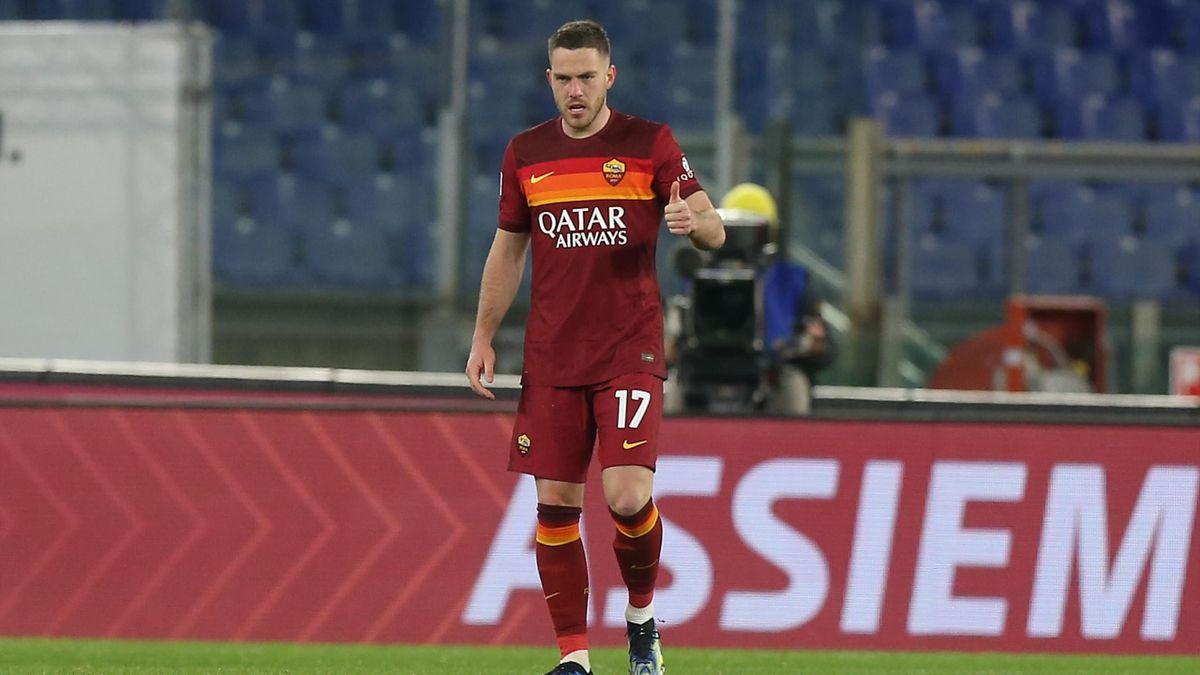 Jordan Veretout, Roma-Milan, Serie A 2020-21, Getty Images