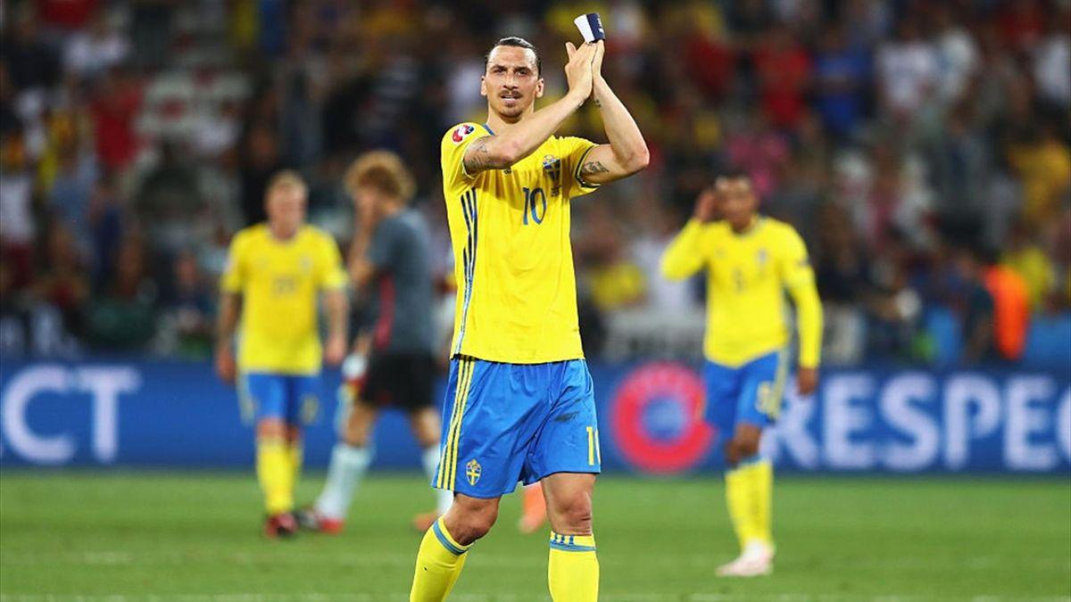 Zlatan Ibrahimovic - Sweden-Belgium - Euro 2016 - Getty Images