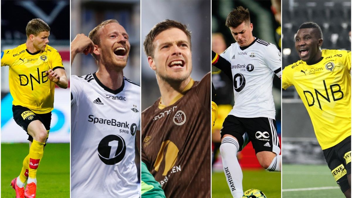 Bergmann Sigurdarson, Åsen, Solholm Johansen, Helland, Mathew