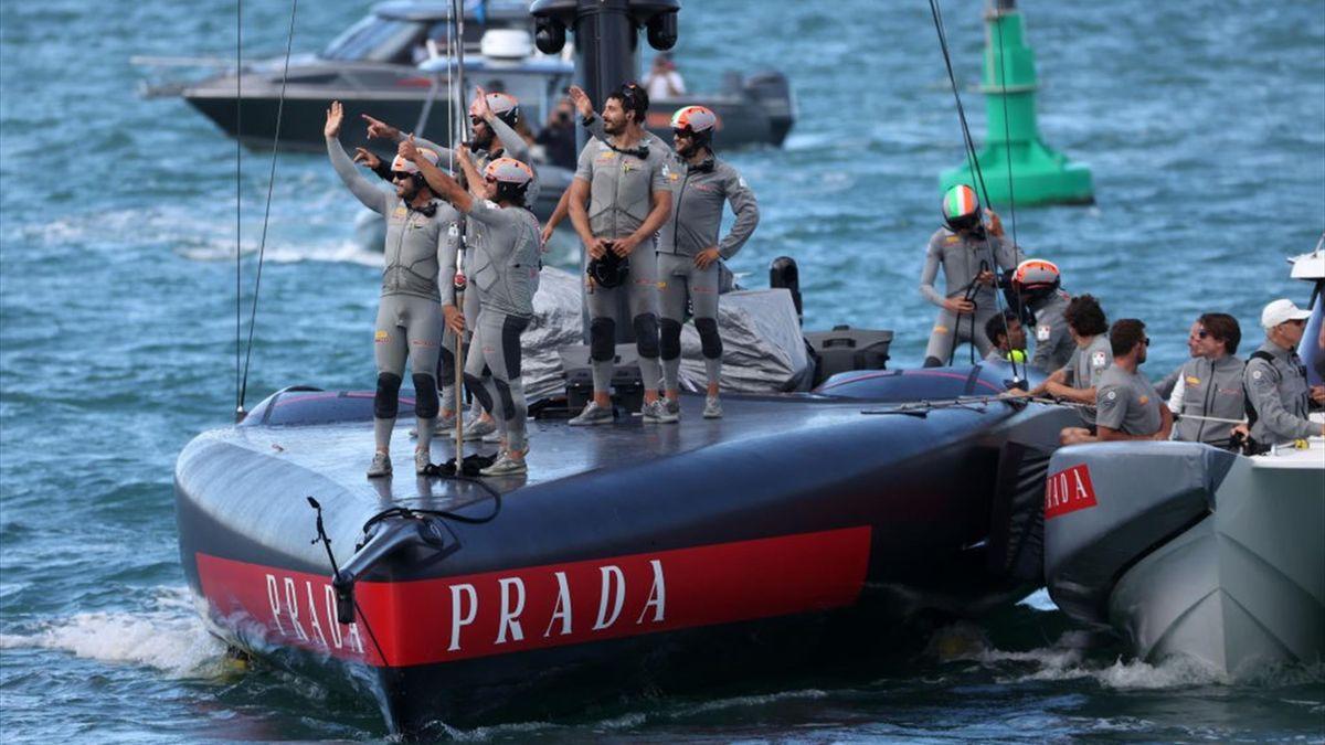 L'equipaggio di Luna Rossa - Prada Cup 2021