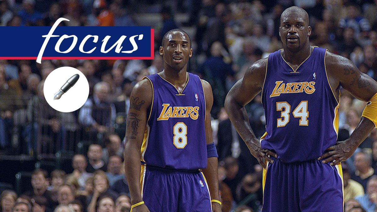 Kobe Bryant, Shaquille O'Neal, Los Angeles Lakers, 2003