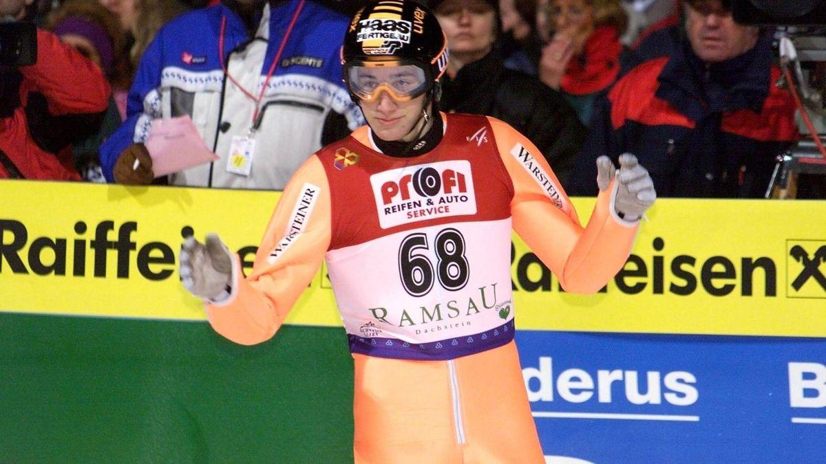 Martin Schmitt holt WM-Gold in Ramsau