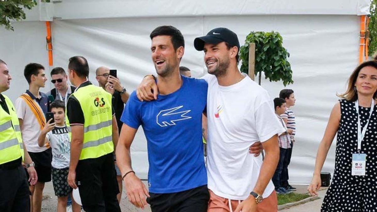 Djokovic şi Dimitrov au fost amândoi pozitivi la testele pentru coronavirus