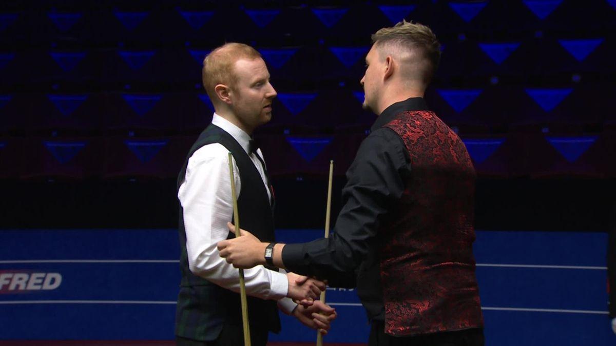 Kyren Wilson l-a învins pe Anthony McGill în semifinalele CM de snooker