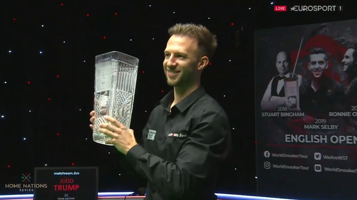 Judd Trump wins the 2020 English Open