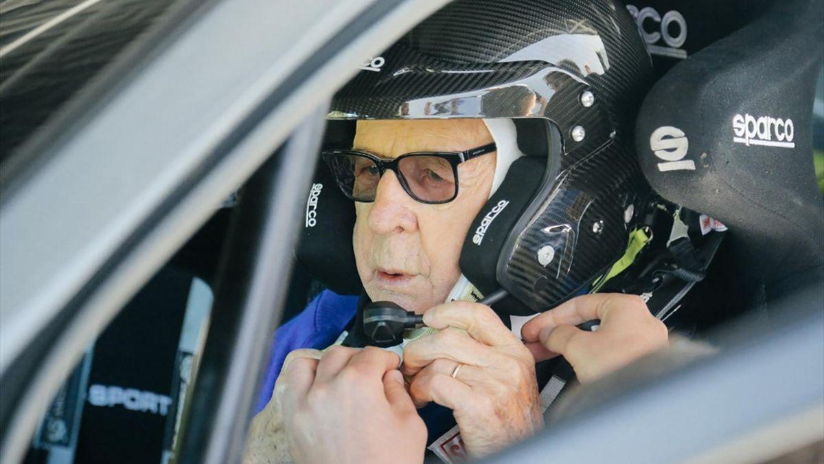 Zasada immortale, al volante a 91 anni al Safari Rally