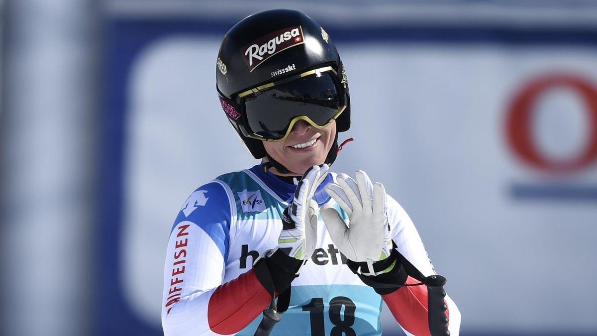 Lara Gut aux finales de St-Moritz 2016
