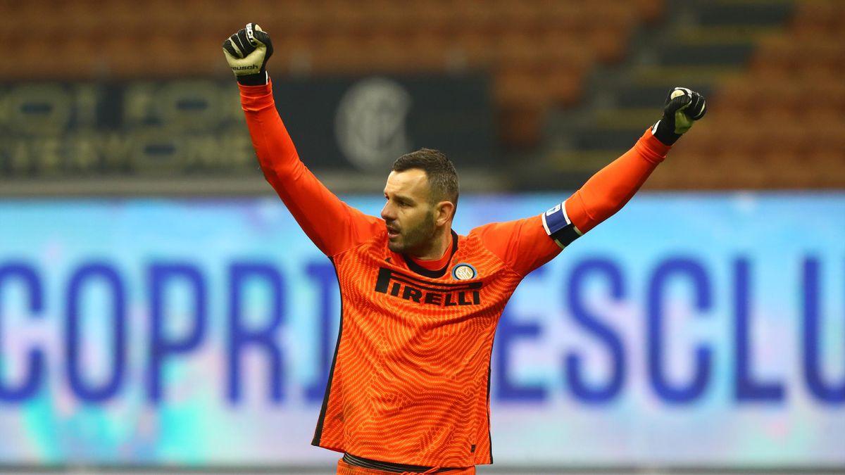 Inter-Napoli 1-0, 2020: Handanovic
