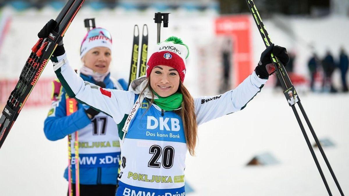 Dorothea Wierer - 2018 IBU Biathlon World Cup Women's 7,5km - Getty Images