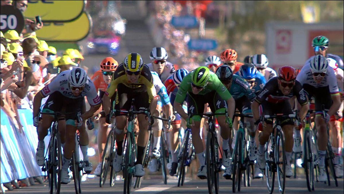 Tour de France - Caleb Ewan win the Stage 11