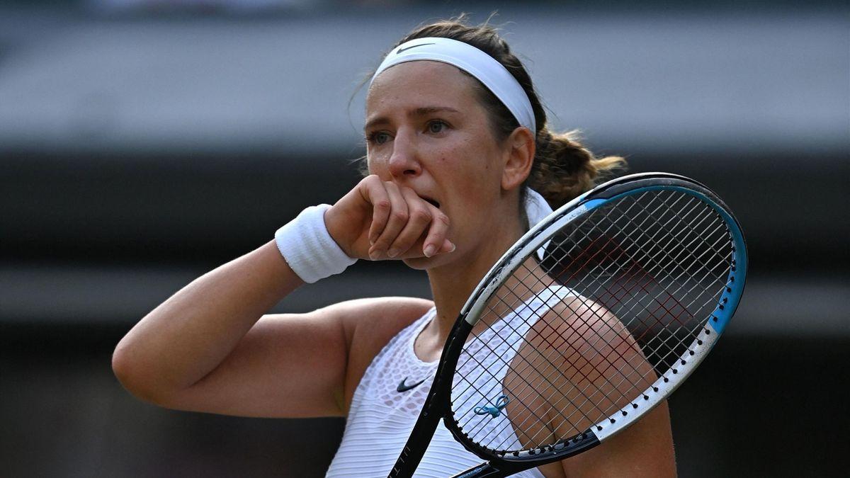 Victoria Azarenka hatte nach ihrer Zweitrunden-Niederlage keine große Lust, viel zu reden