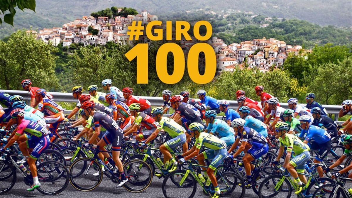 The 100th Giro d'Italia