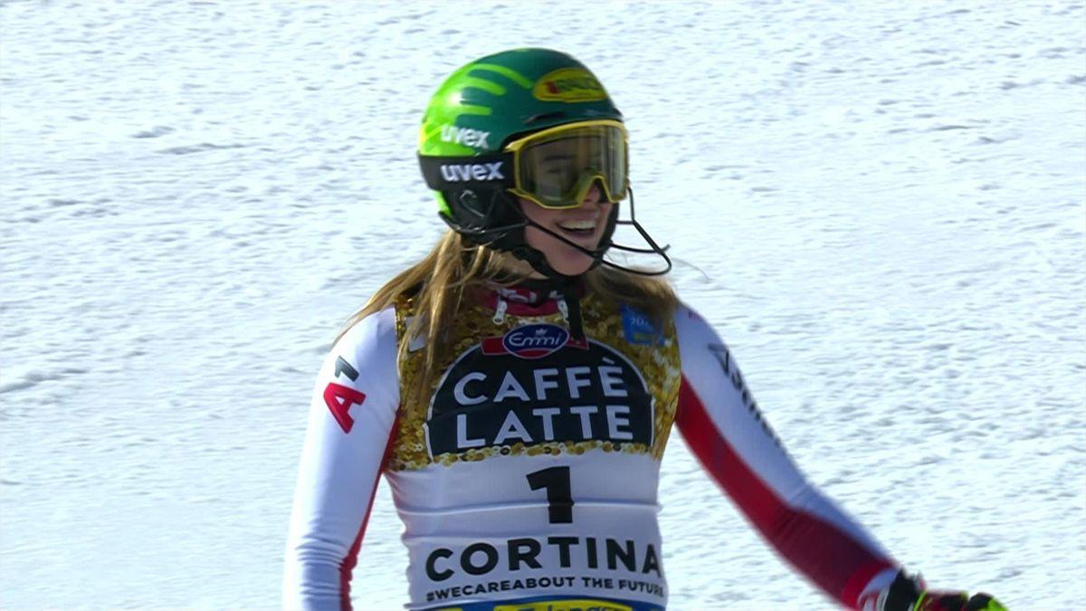 'Gold for Austria!' - Liensberger topples Vlhova, Shiffrin to win slalom world title