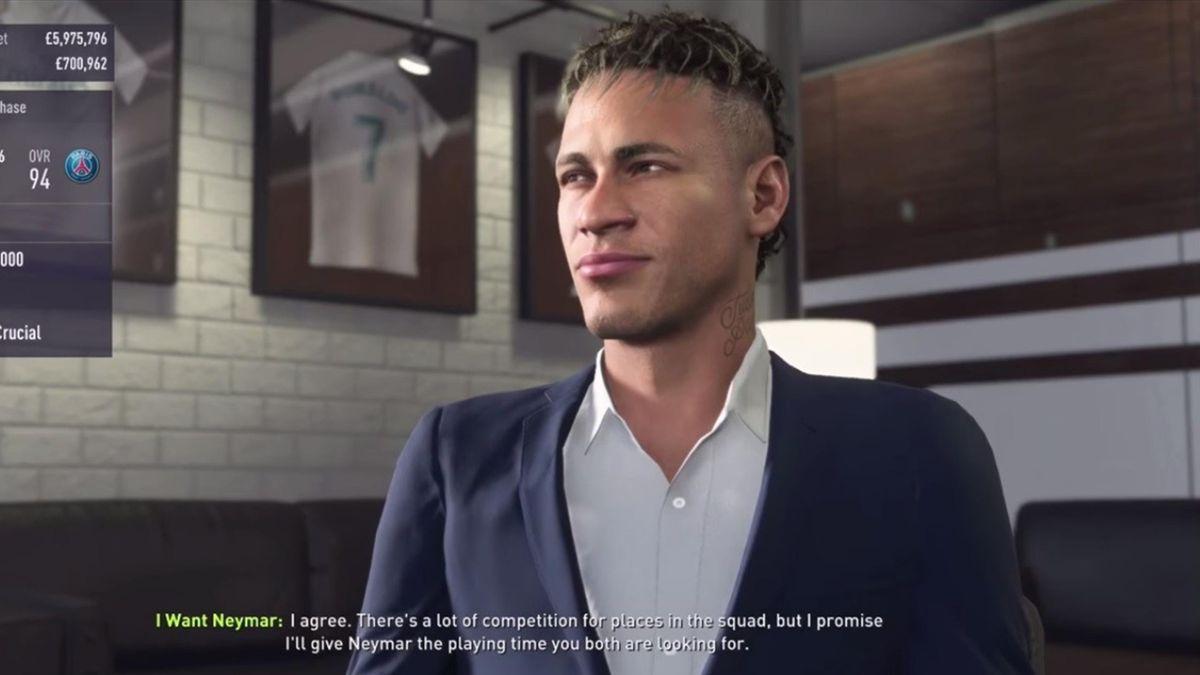 Неймар в FIFA 18