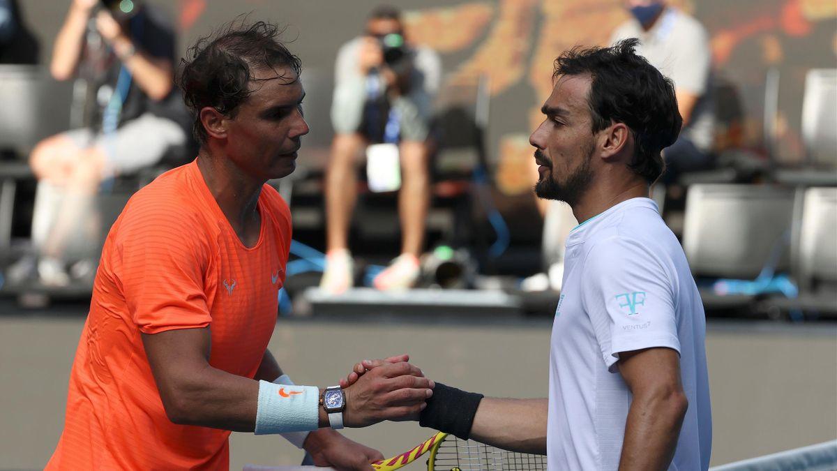 Rafael Nadal vs. Fabio Fognini - Australian Open 2021