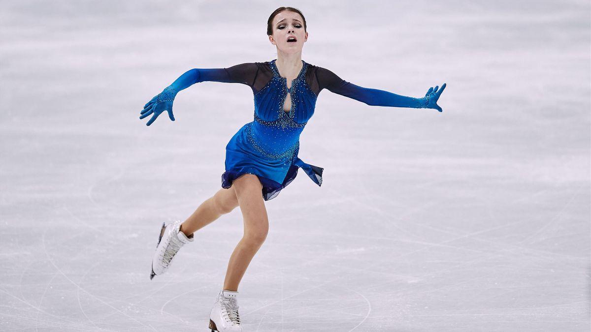 Anna Shcherbakova leads the standings at  ISU World Figure Skating Championships 2021