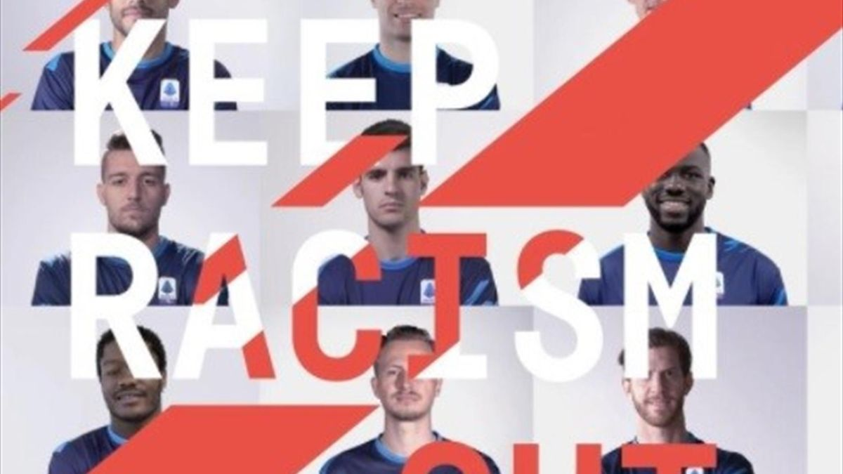La campagna Keep Racism Out della Lega Serie A