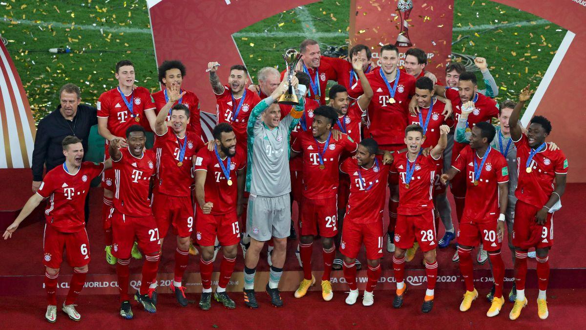 Sextuple-Gewinner FC Bayern sicher in München gelandet