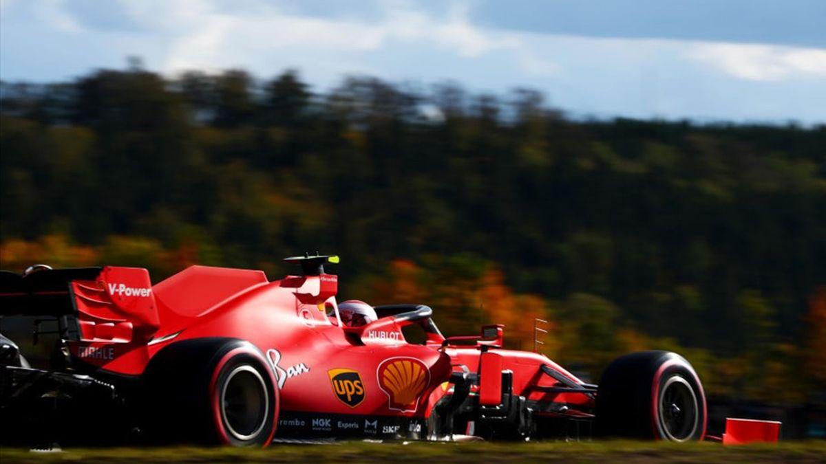 Charles Leclerc (Ferrari) au Grand Prix de l'Eifel 2020