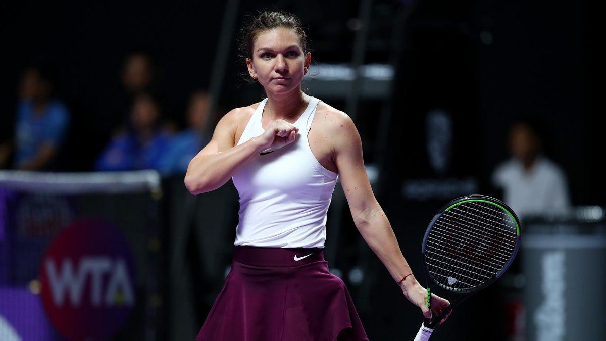 Simona Halep s'est imposée face à Bianca Andreescu