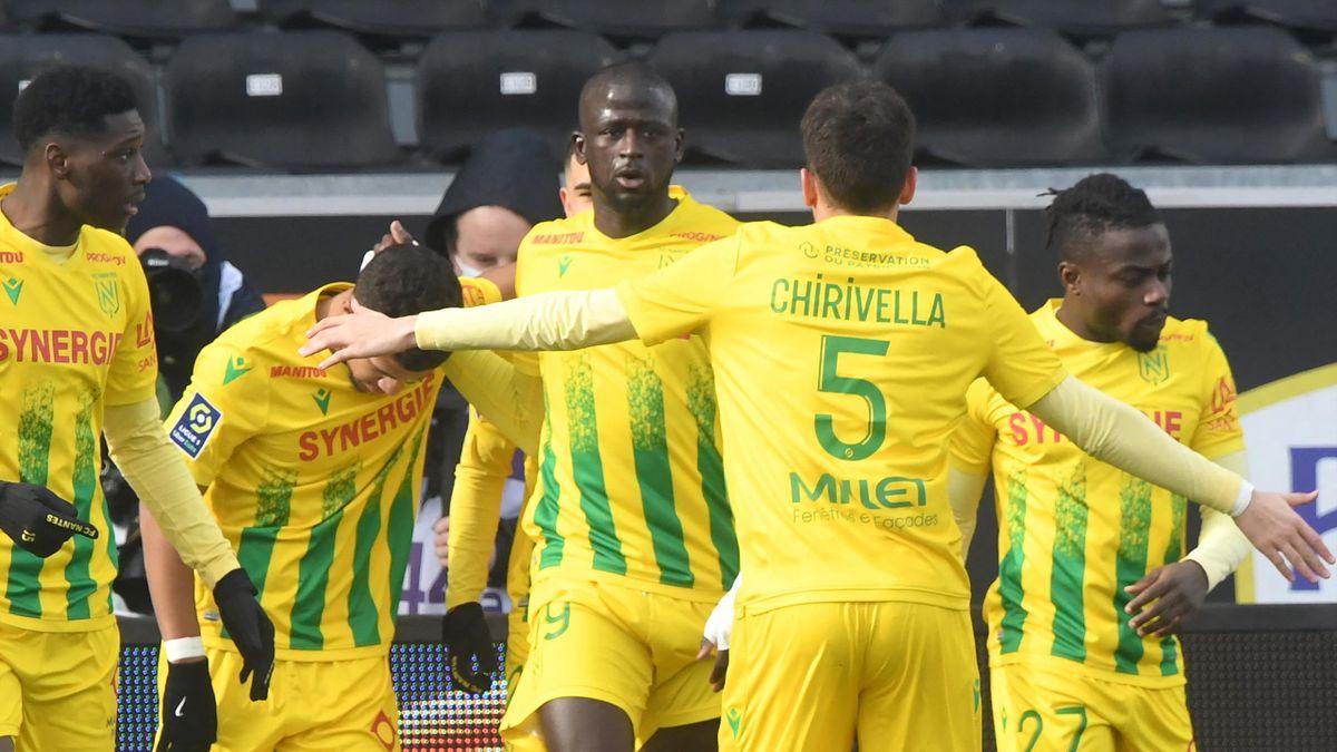 Les joueurs du FC Nantes