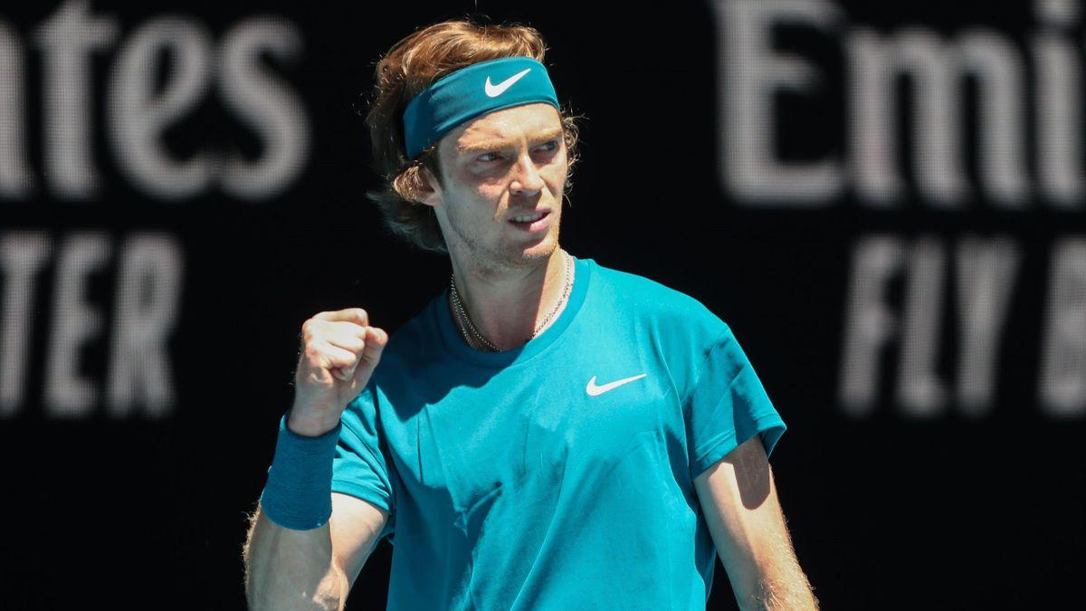 Андрей Рублев, Australian Open-2021
